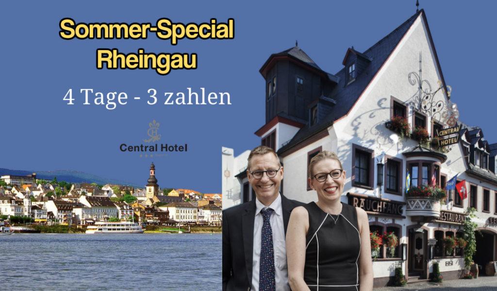 Urlaub im Rheingau Central Hotel