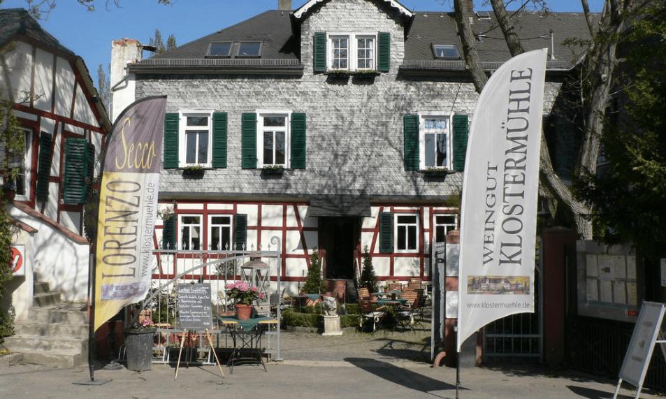 Klostermühle Kiedrich Speisekarte