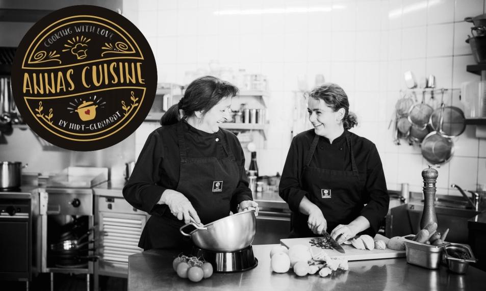 Speisekarte Annas Cuisine Hirt-Gebhardt