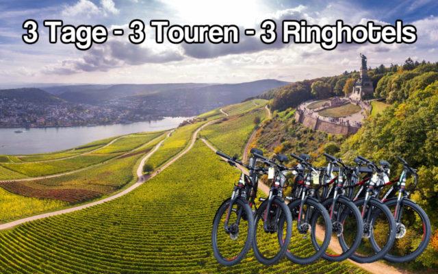 E-Bike-wandern Taunus